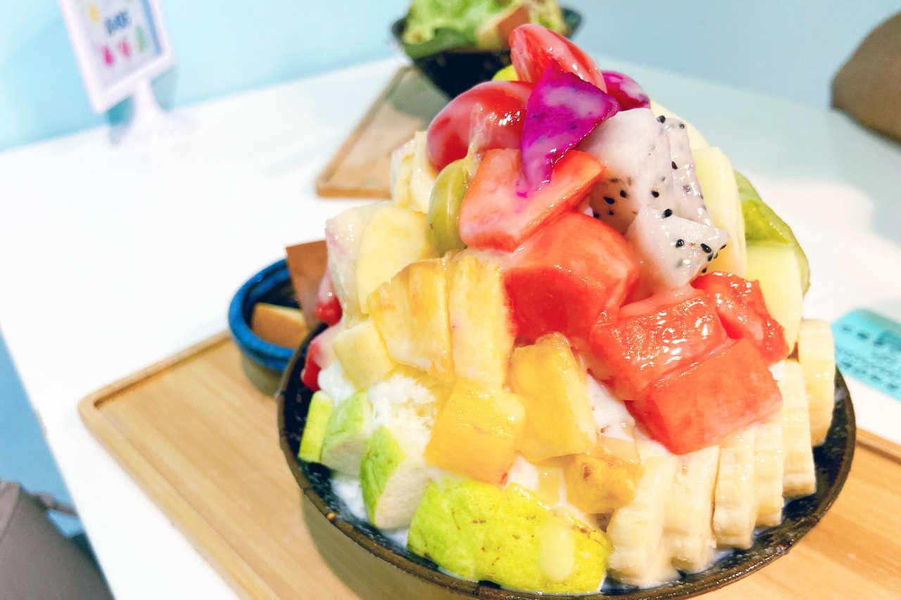 【新莊食記】鮮果王果汁冰品專賣店,必吃12種鮮果雪花冰(休業)