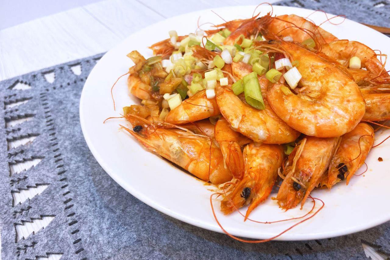 【輕鬆料理】簡單做!胡椒蝦&韓式泡菜海鮮煎餅/蝦子料理推薦/元家藍鑽蝦