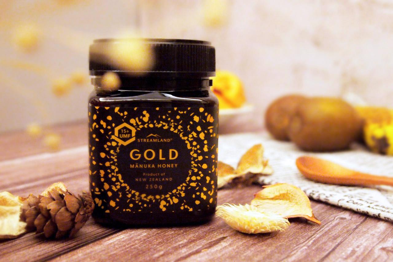 【好物開箱】老協珍・STREAMLAND紐西蘭新溪島麥蘆卡蜂蜜UMF®15+ 250g / 香濃蜜香,天然養身