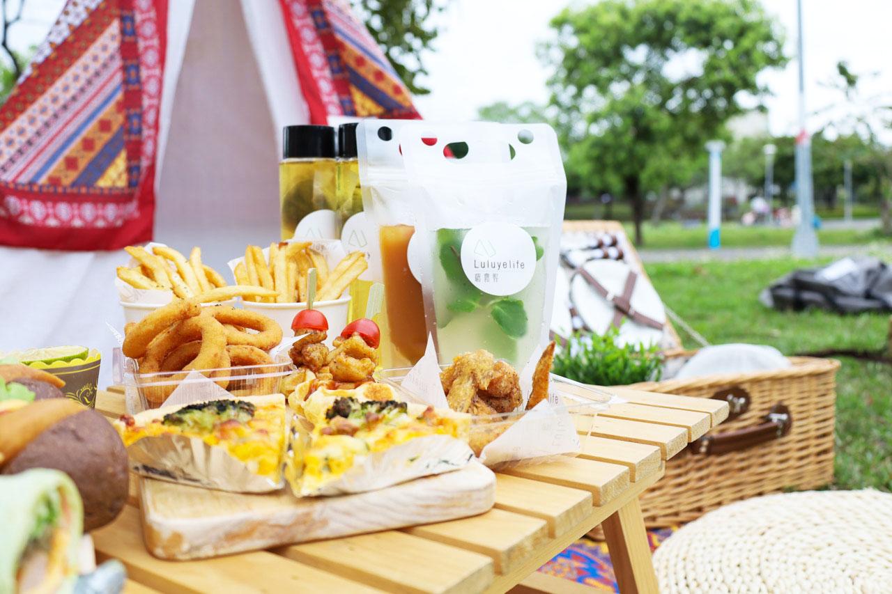 【台北野餐趣】一起去戶外野餐!只要3分鐘,輕鬆佈置野餐派對、風格露營/璐露野生活・野餐餐盒/野餐道具租借