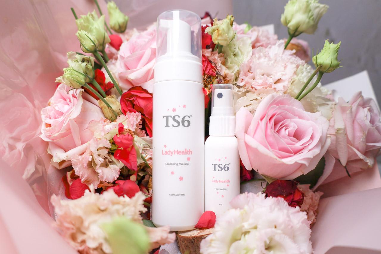 【私密肌保養】TS6潔淨慕斯、幸福粉霧,溫柔配方,貼心呵護女性的私密肌膚