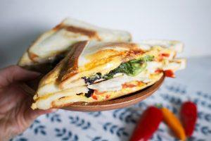 【美味開箱】使用松木家電烤三明治機/熱壓吐司機,輕鬆料理,享受美味早餐與點心