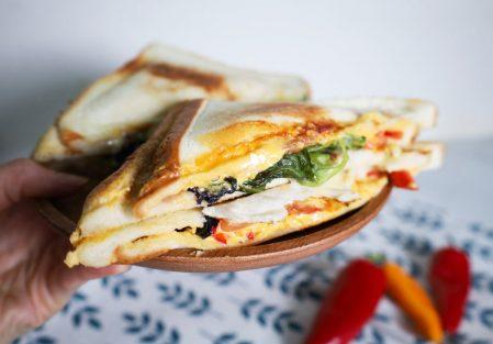 【家電開箱】使用松木家電烤三明治機/熱壓吐司機,輕鬆料理,享受美味早餐與點心