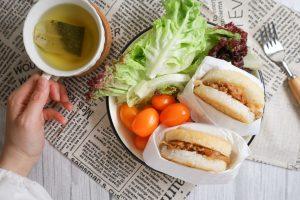 【美味開箱】今天不想煮?喜生食品宅配米漢堡/好市多米漢堡,快速微波即食好便利