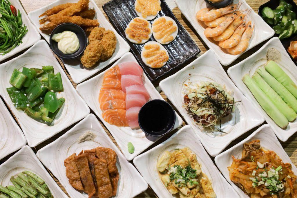 【台北美食・串燒殿】現點現做!499/699串燒吃到飽/炸物、海鮮、快炒熟食通通有