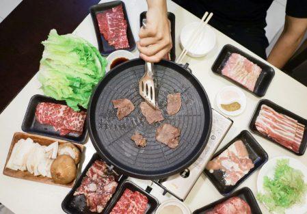 【宅配在家烤!32盎司雙人燒肉】火山岩燒肉,安心防疫免出門,在家吃美食,多達9樣肉品超滿足