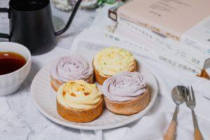 【宅配美食】必吃療癒系甜點「檸檬塔、芋頭塔、鳳梨塔」/首都烘焙坊綜合點心塔
