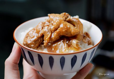 【超下飯料理・洋蔥薑汁燒肉】備料快速、簡單步驟,在家享受大口扒飯的爽快!